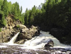 Minnesota Waterfalls: The Cascades of the Baptism River