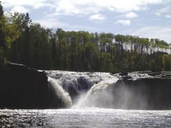 Minnesota Waterfalls: Lower Middle Falls