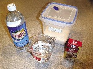 Easy way ingredients.   ERIC CHANDLER