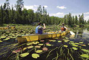 You don't have to go on a multiday trip to experience the beauty of the Boundary Waters. | BRYAN HANSEL