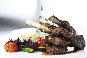 Upscale dining can be found along the entire North Shore.  STOCK