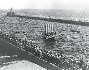 Leif Erikson's arrival in Duluth. | Submitted