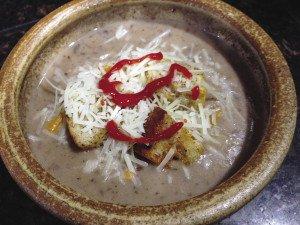 The Bean Fiend Café makes a Mad Bean soup. | BEAN FIEND CAFÉ