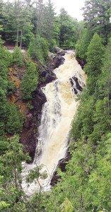 Big Manitou Waterfalls at Pattison State Park. | GARY WALLINGA