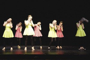 "Last year's dance recital, titled ""Breakthrough,"" ended with a jazz routine by the 4-6 graders. 