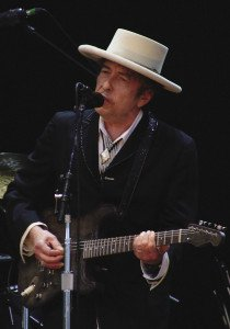 Bob Dylan at the Azkena Rock Fest 2010 in Spain. | WIKImedia commons