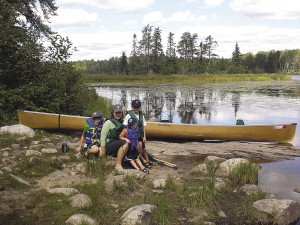The author's family frequently camps in the Ely BWCAW. | ROB DRIESLEIN