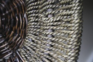 Cordage is commonly used in basket weaving. | JULIA PRINSELAAR