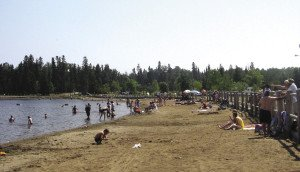 Families can enjoy everything from bumper cars to a sandy beach at Chippewa Park. | CITY OF THUNDER BAY