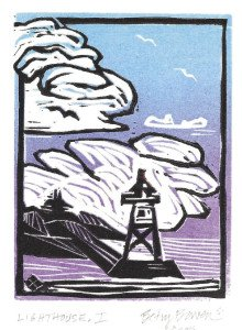 """Lighthouse"" by Bowen is one of her newest images. 