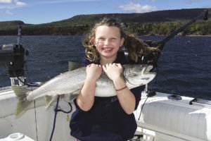 Charter fishing on Lake Superior is all about making memories. | TOFTE CHARTERS