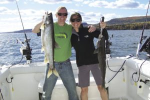 Charter captains make fishing memorable for all ages of anglers.  | TOFTE CHARTERS