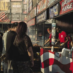Ribfest attendees can order slow baked and grilled ribs, barbecued chicken, pulled pork sandwiches, beef brisket, and sides like coleslaw and baked beans. | Submitted