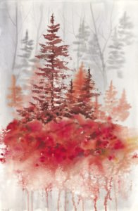 This beautiful watercolor painting was created by Biljana Baker. | BILJANA BAKER