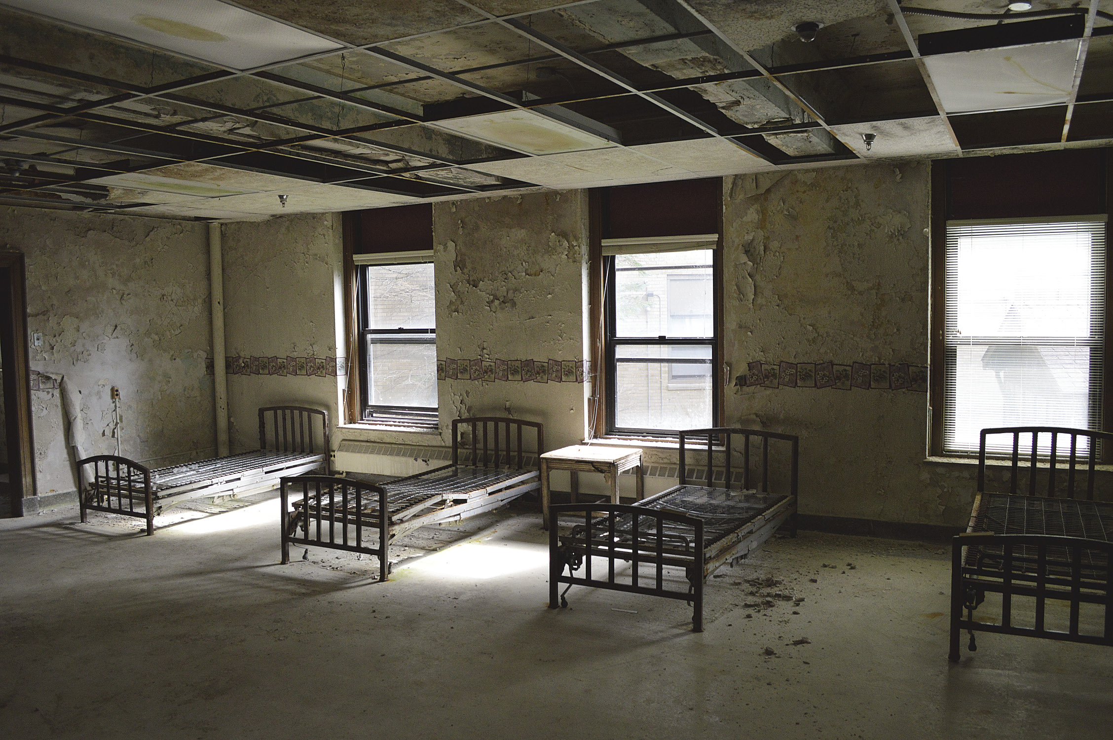 Nopeming Sanatorium in Duluth, MN was originally a tuberculosis treatment center, opened in 1912.