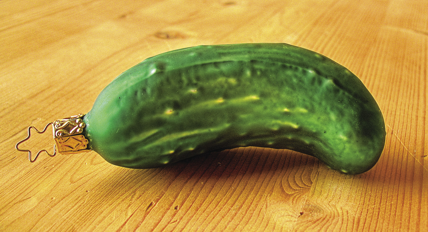 The Strange Legend Of The Christmas Pickle