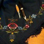 Nancy Hanson's shawl.