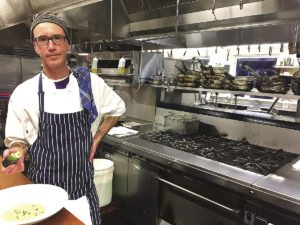 Lars Dukowitz, owner of Cooking with Lars, offers a variety of classes, from basic knife skills to cooking soups and quiche. | COOKING WITH LARS