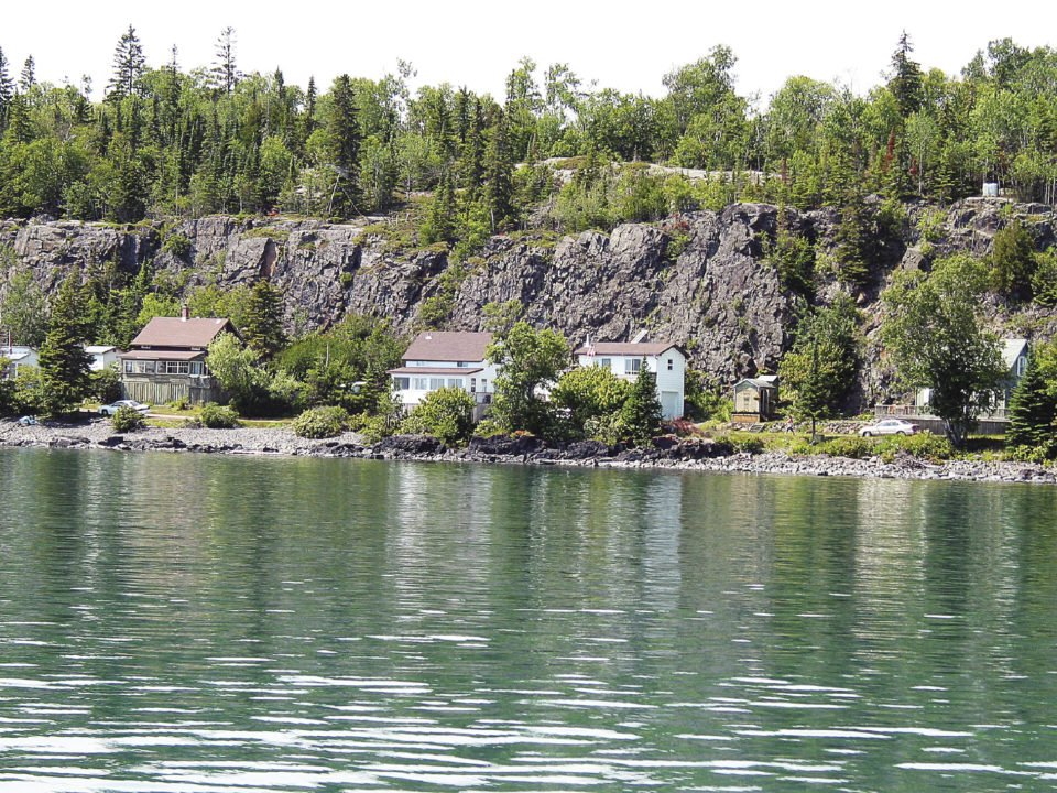 The off-grid cottage community of Silver Islet, which is adjacent to Sleeping Giant Provincial Park, is about an hour's drive east from Thunder Bay. | ELLE ANDRA-WARNER