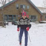 George Hovland was already on the trails by November 9 this year. | SUBMITTED