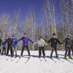The Nordic Northstar youth ski program at the Snowflake Nordic Ski Center. | SUBMITTED