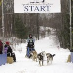 Sally led my first race team in the Apostle Islands Sled Dog Race. | ERIN ALTEMUS