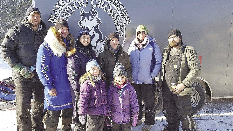 At Manitou Crossing kennels, Jennifer and Blake Freking race Siberian huskies.