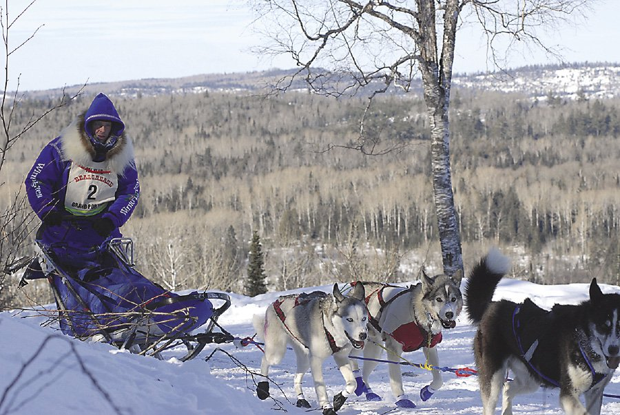 The Beargrease Marathon will end in Grand Portage.