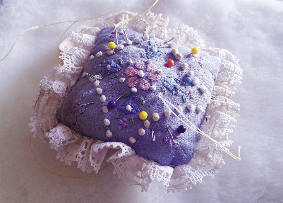 My great-grandmother's pincushion.