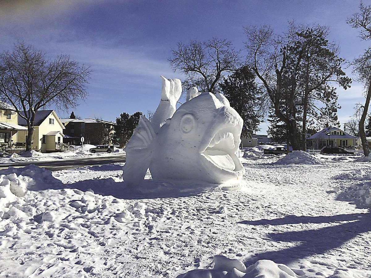 Snow Sculpting Turning Winter Into Art Northern Wilds Magazine