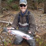 Fishing guide and conservationist Carl Haensel.