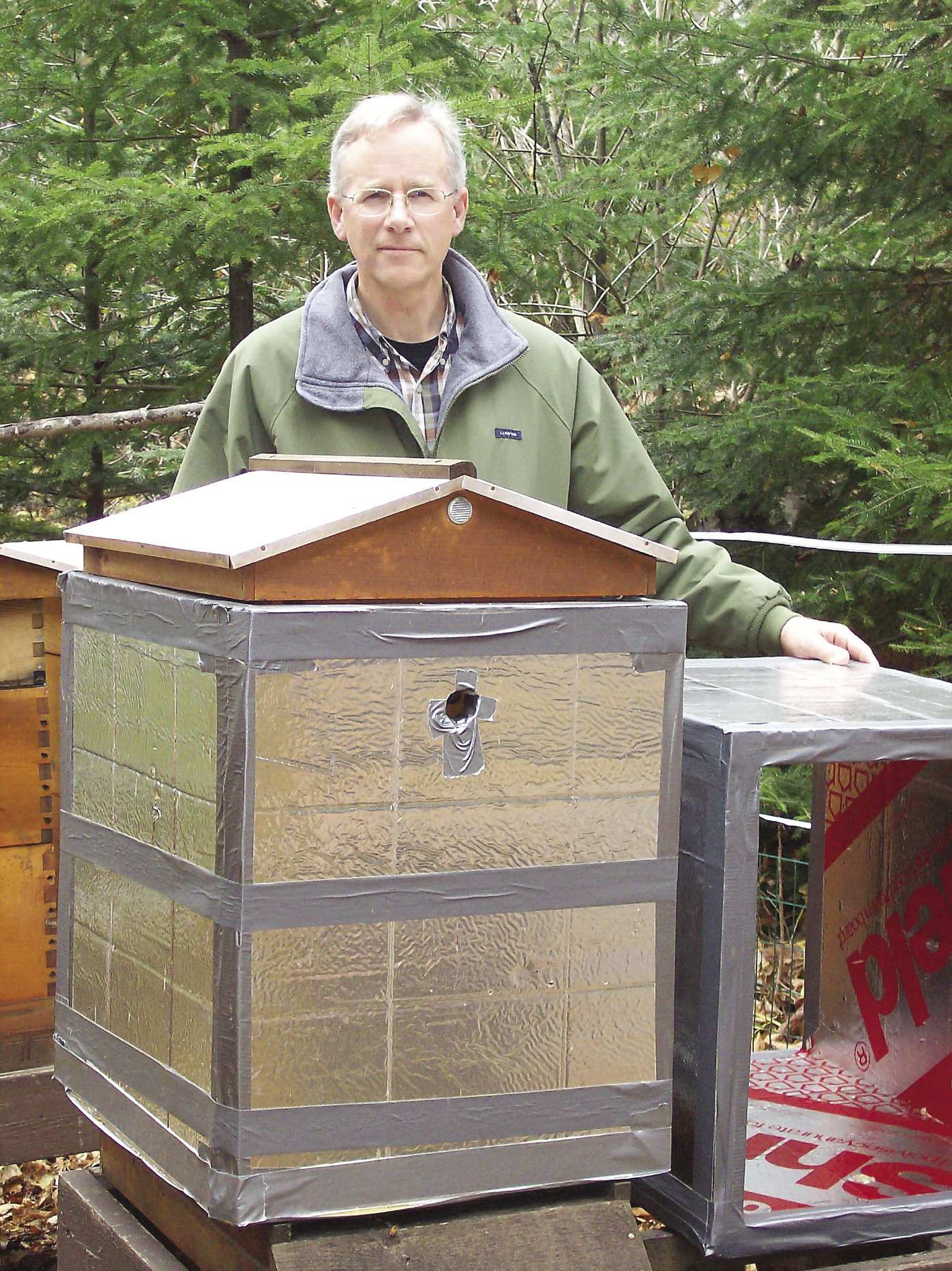Grand Marais resident Mark Ditmanson has been keeping bees for the last 14 years.