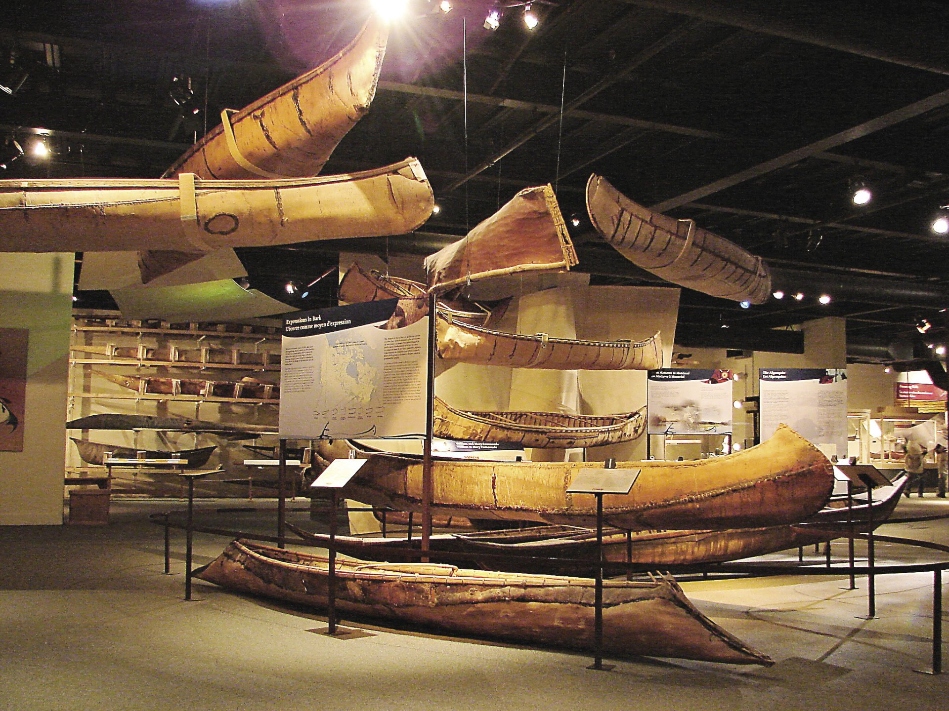 The Canadian Canoe Museum in Peterborough, Ontario, houses the world's largest collection of canoes, kayaks and self-propelled watercraft.