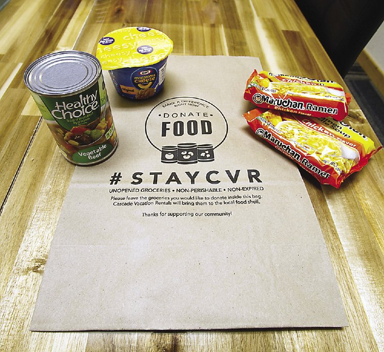 Project: Food accepts non-perishable, unopened food items for donation.