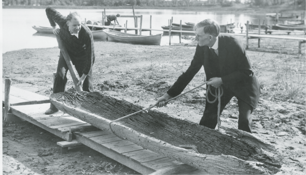 Minnesota's oldest dugout canoe is dated to 1025-1165 AD. It was discovered in August 1934 in North Arm of Lake Minnetonka.