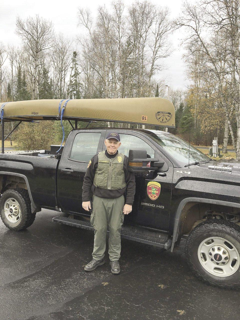 Minnesota DNR officer Darin Fagerman.