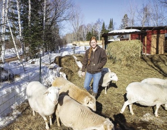 Yellow Birch Hobby Farm owners Erin and Josh Blegen produce a large percentage of their own food.
