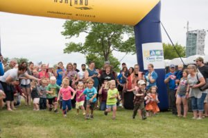 Annual Bay Days festival in Bayview Park in Ashland, Wisc.,