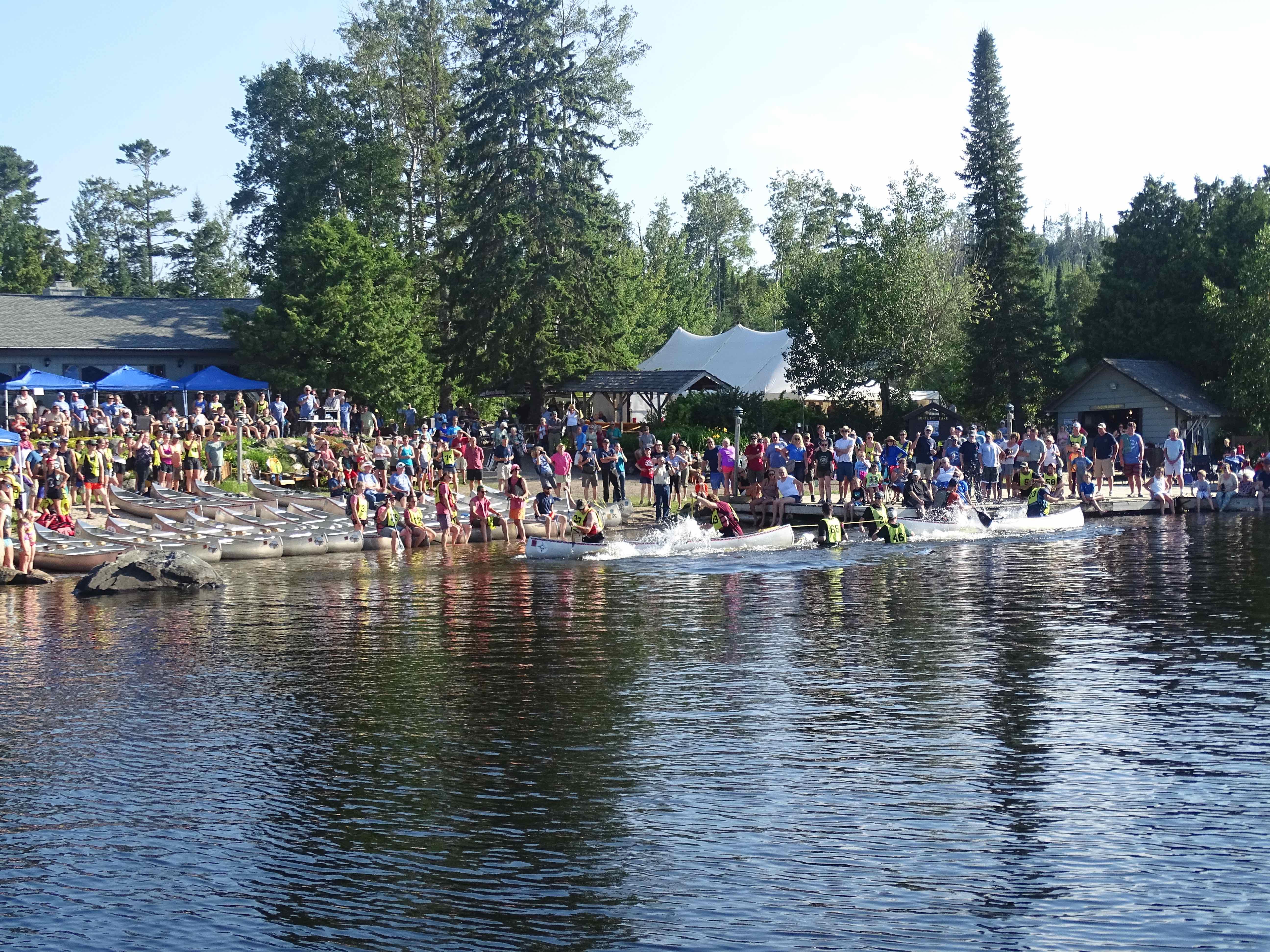 Gunflint Trail Canoe Races