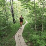 Peaceful stretches like this one give the Tofte Trek its wilderness feel.