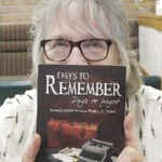 Bill MacDonald's wife Cathy and her book,Days to Remember, Days to Forget.