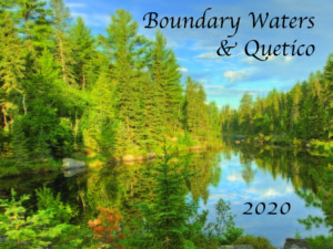 Boundary Waters & Quetico wall Calendar