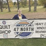 Sylvia Galbraith has taken over Heavy Duty Sewing in Lutsen, now known as 47°N – Heavy Duty Window Treatments & Quilt Shop.