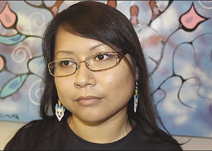 Lucille Atlookan is the founder of Neechee Studio in Thunder Bay.