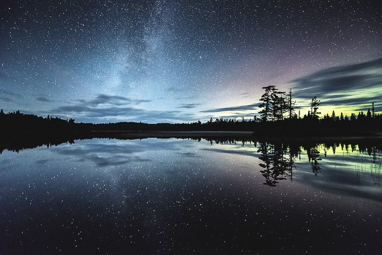 Heart of the Continent Partnership is working have the Boundary Waters region designated as an International Dark Sky Reserve.