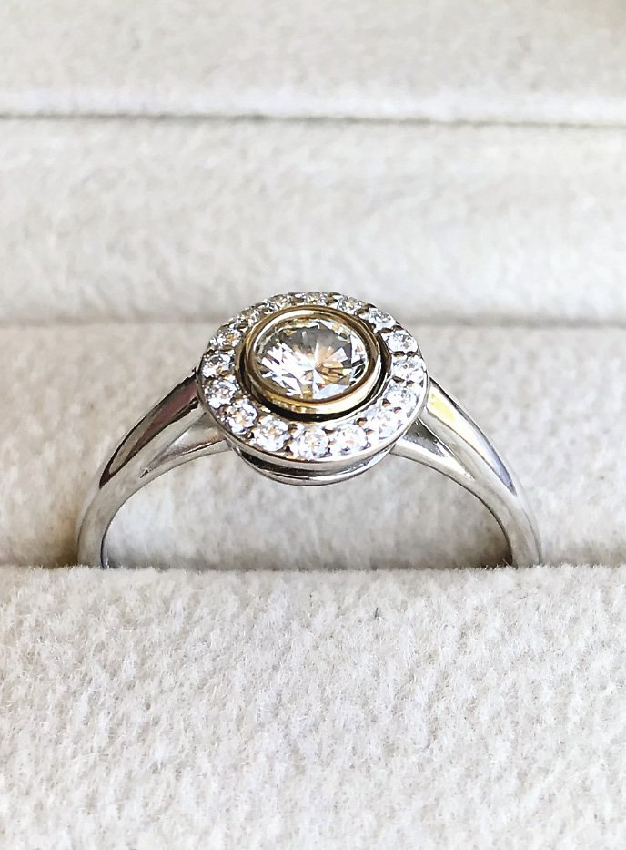 Some of Steve Hahn's projects have included custom rings.